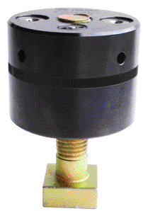 Clamping nut provides force with minimum torque