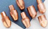 Long-life spot-welding electrodes