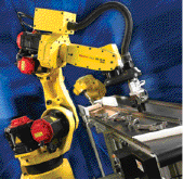 Intelligent robots for metalforming