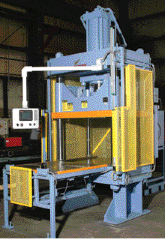 Hydraulic press for press-fit work