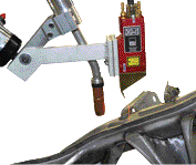 Laser-weld inspection for safety-critical welds