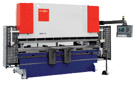 Simple, intuitive press brake