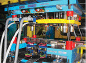 In-die-welding systems