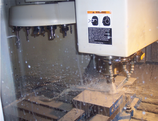 Die-detail machining at RCM Tool runs on CNC equipment