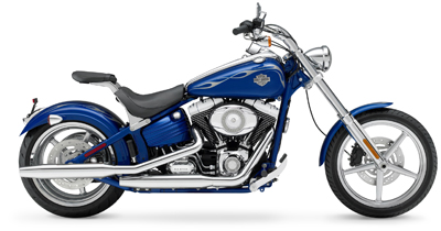 New Harleys with deep-drawn fenders