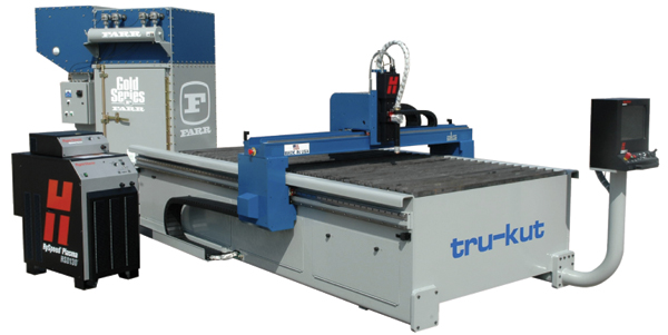 Heavy-duty plasma-cutting system