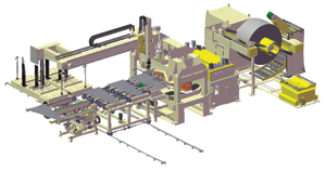 transfer-press feed system