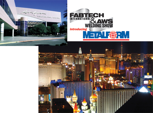 Fabtech, welding show and metalform all in one.