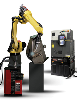 High-end robotic welding
