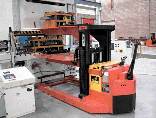 QDC two-tier die cart