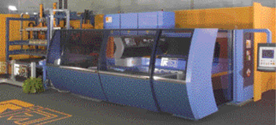 Tradeshow Laser-cutting system