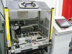 Electronics panel-stamping process