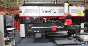 Amada laser-punch combination machine