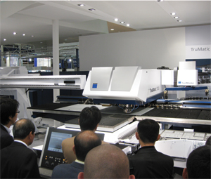 Trumpf TruMatic 7000 laser-punch combo
