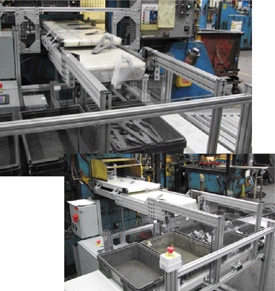 New conveying systems