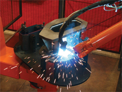 D&S operates four robotic arc-welding  cells and recently implemented offline programming to boost productivity from the cells.