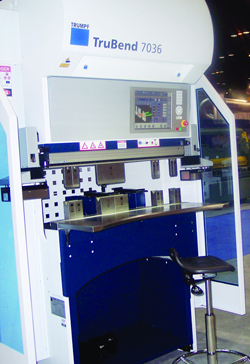 TruBend Series 7000 press brake