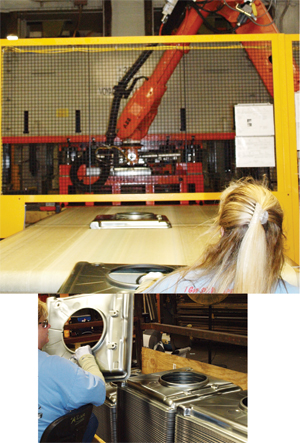Clinch-seaming machine
