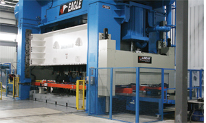 1500-ton 96-by-256 in setup transfer press