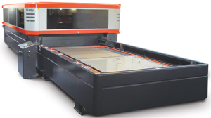 4-kW /fuber-Laser Cutting Machine