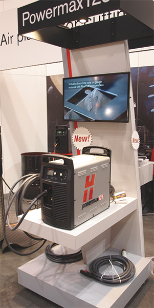Hypertherm Powermax125 plasma-cutting and gouging system