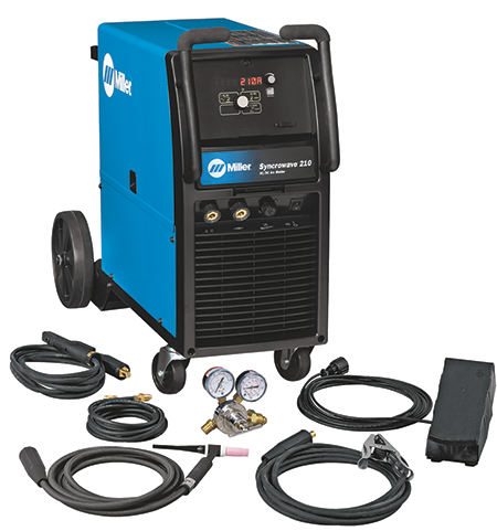 Miller Electric inverter-based Syncrowave 210 TIG welder