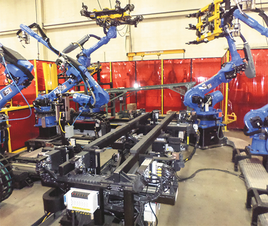 Proper fixturing in robotic welding