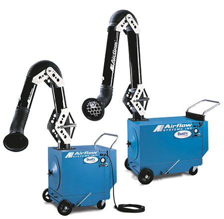 Airflow Systems portable dust collector