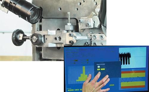 Newcomb camera gauge