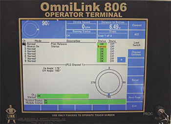 Link OmniLink 806 operator terminal
