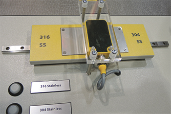 Turck inductive sensor for material ID