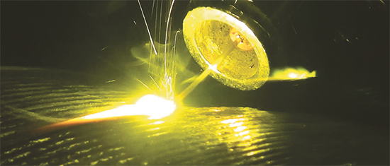 laser-assisted wire-based additive-manufacturing process for titanium- and nickel-based alloys
