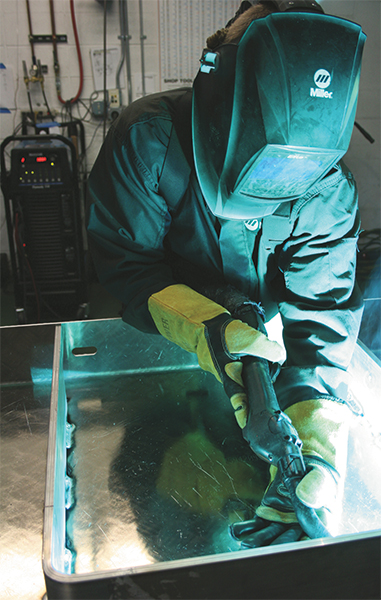welding alumunium presents some unique challenges.