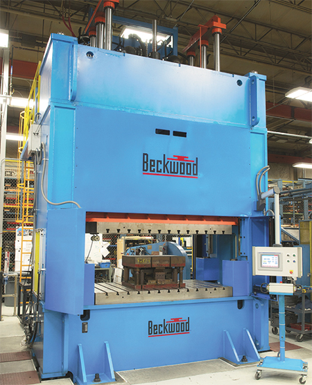 components used on custom-built presses often are cataloged items from local distributors