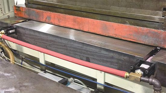 PFA pneumatic die-lifter rails
