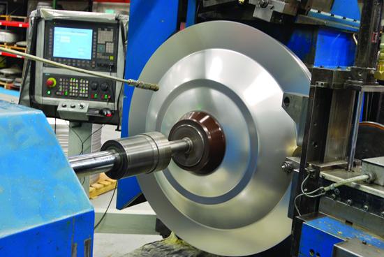 metal spinning machines