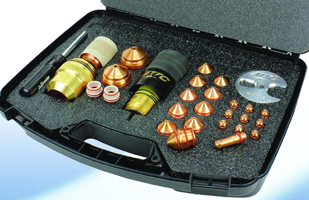 plasma cutting kits combine torch, consumables