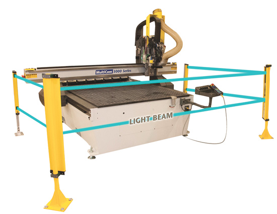 CNC cutting equipment has safety control options
