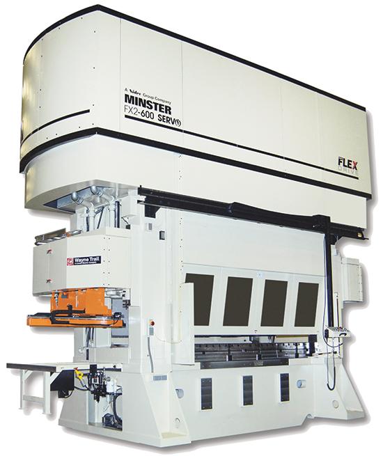 Nidec Minster's FX2 600-ton straight-side press