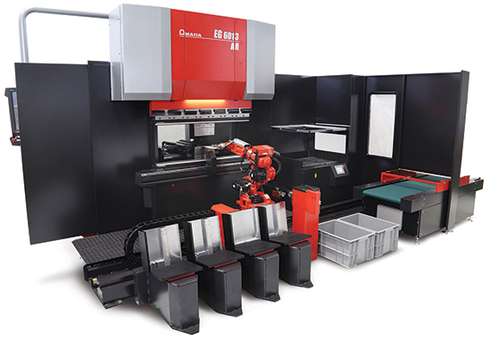 Amada America Automated Robotic Bending Cell
