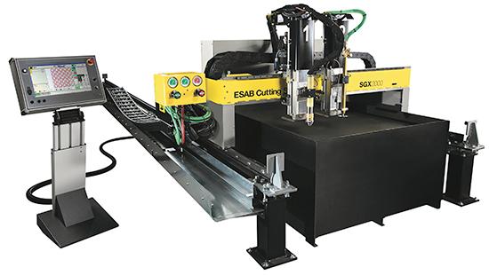 Esab Cutting Systems automated machine for plasma, oxyfuel cutting