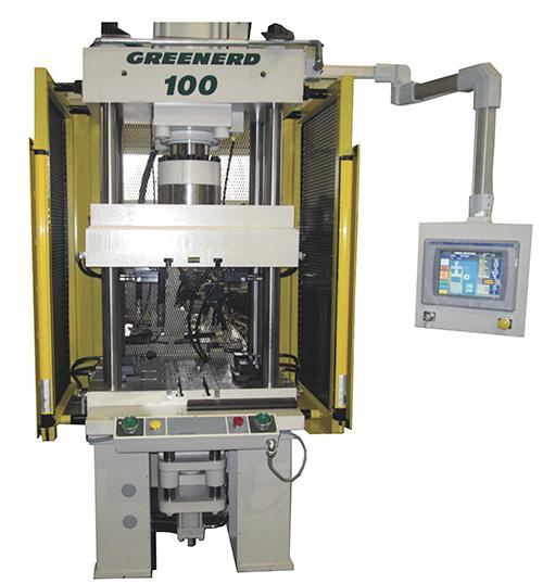 Greenerd Press hydraulic presses