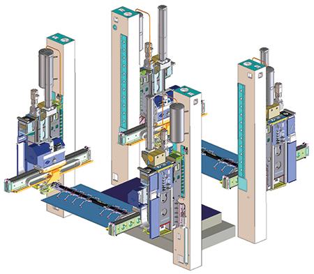 Strothmann Machines High-speed transfer