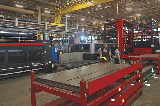 Amada ASLUL automatic load-unload systems