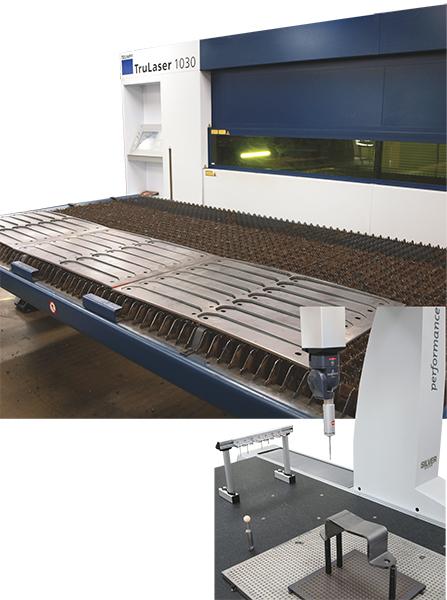 3000-W fiber-laser cutting machine