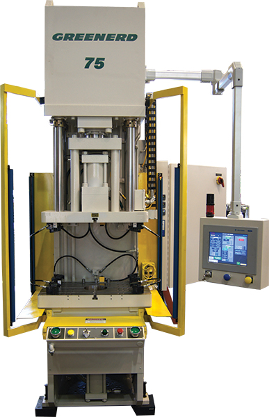 control updates on 75 ton hydraulic press can ensure die selection and proper job settings