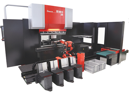 Amada automated bending cell