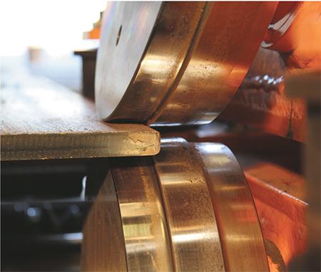 HGG Profiling Equipment edge-rounding line