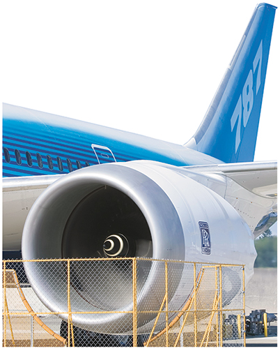 Boeing 787 jet-engine cowling