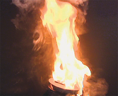 mineral oil has explosive combustion